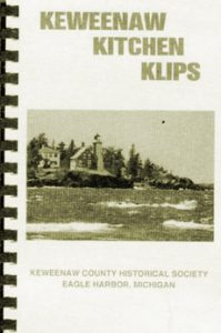 Keweenaw Kitchen Klips cookbook