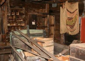 Inside the Bammert Blacksmith Shop