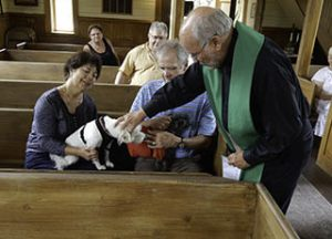In addition to displaying artifacts from many different churches in the Keweenaw, we offer open houses and special events at the church, such as the Blessing of the Animals.