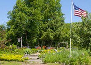 The Memorial Garden at Central.
