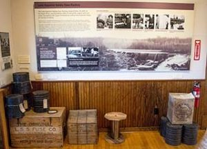 The Lake Superior Fuse Factory exhibit