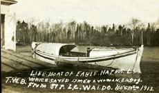Lifesaving station Waldo rescue boat