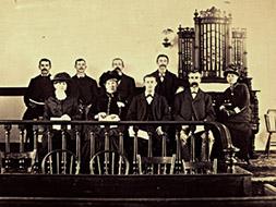 The Central Choir in 1884. (KCHS)